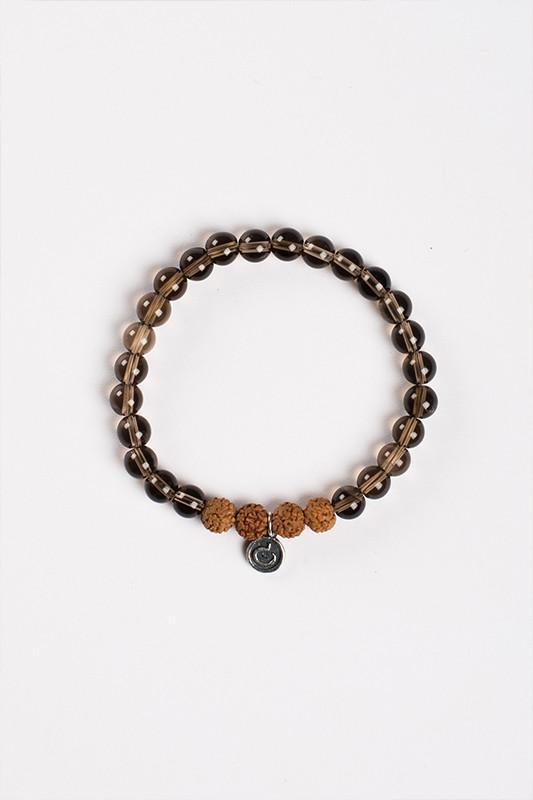 Jewellery Mala Collective I Am Grounded Bracelet - Rudraksha