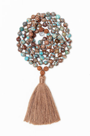 Jewellery Mala Collective I am Here Mala - Rudraksha