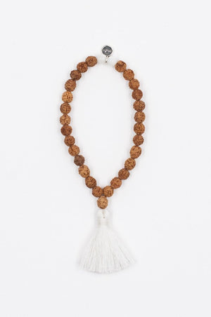 Jewellery Mala Collective Meditate Bracelet - White Rudraksha