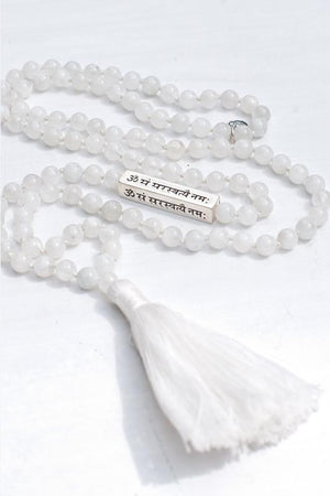 Jewellery Mala Collective Saraswati Mantra Mala