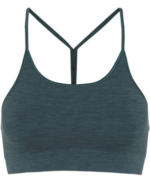 WOMENS BRAS Moonchild Seamless Zen Top - Forest Green