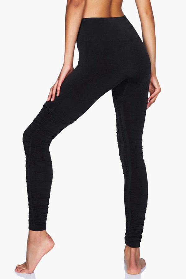 WOMENS LEGGINGS XS (U.K 8) Moonchild Ballet Leggings - Black Iris