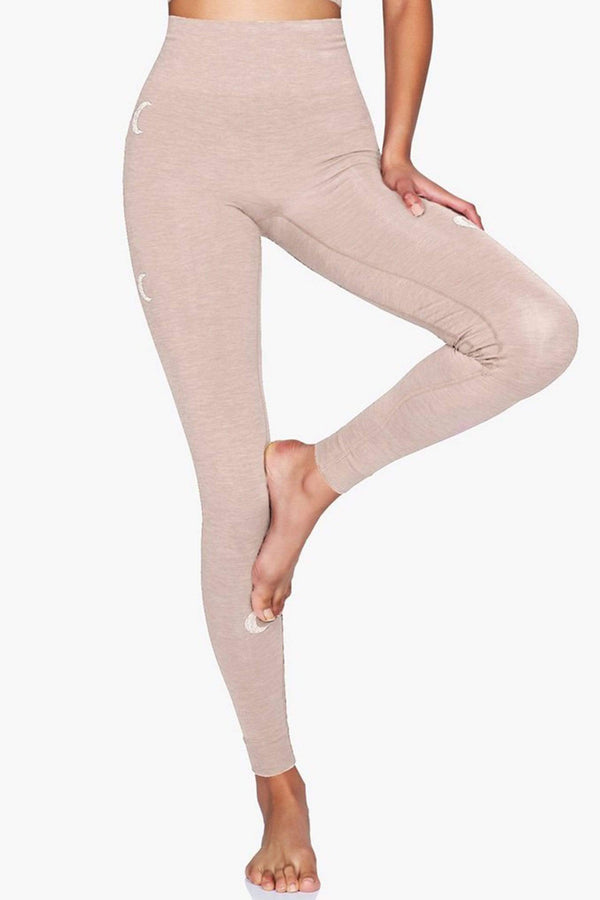 WOMENS LEGGINGS XS (U.K 8) Moonchild Solstice Legging - Rose Dust