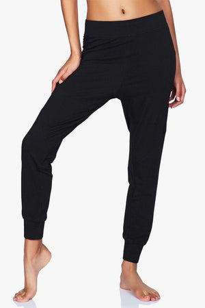 WOMENS SWEATPANTS Moonchild Fave Pants Black Iris