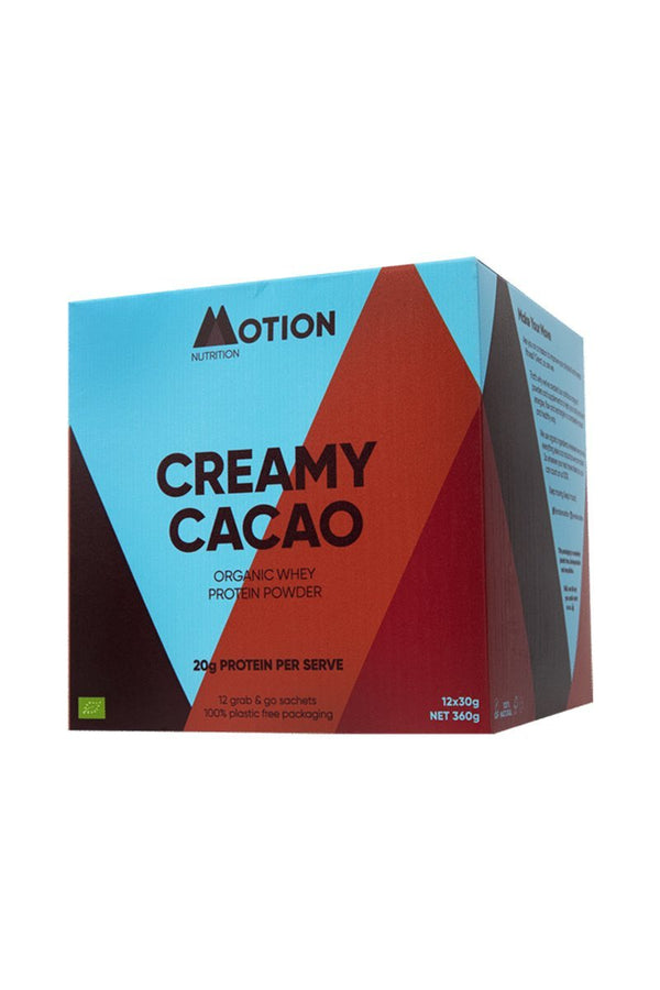 supplements Motion Nutrition Creamy Cacao Protein Shake