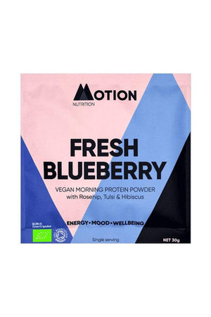 supplements Motion Nutrition Fresh Blueberry Morning Shake