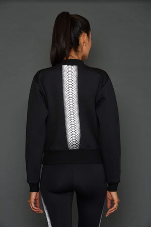 Women's Sweatshirts XS (U.K 6) Noli Cobra Reflective Sweatshirt - LIMITED EDITION