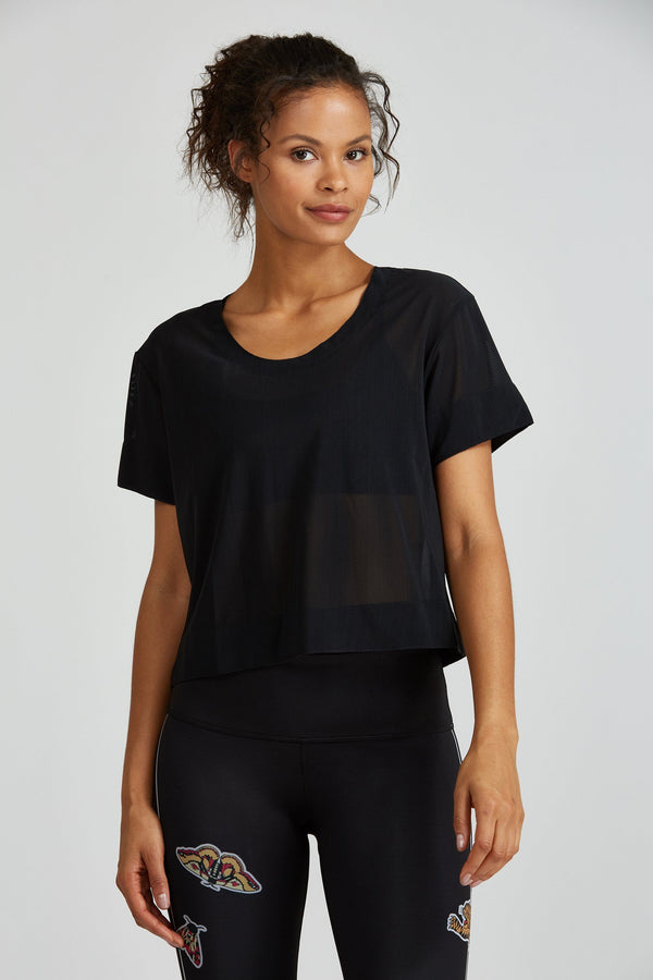 Women's Tops/Tanks Noli Illusion Mesh Top