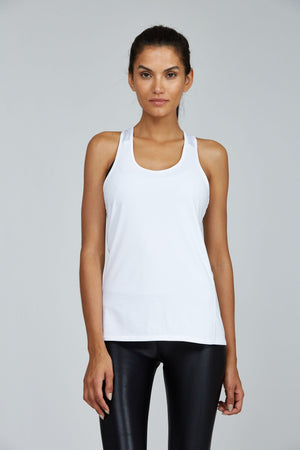Women's Tops/Tanks S (U.K 8) Noli Bari Tank White