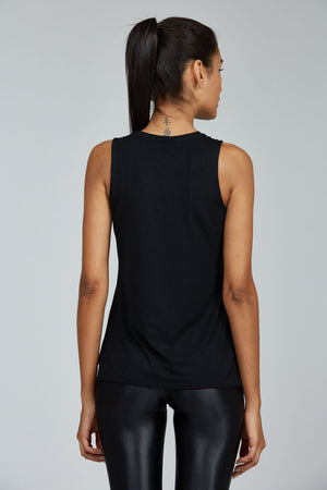 Women's Tops/Tanks S (U.K 8) Noli Tank - Black