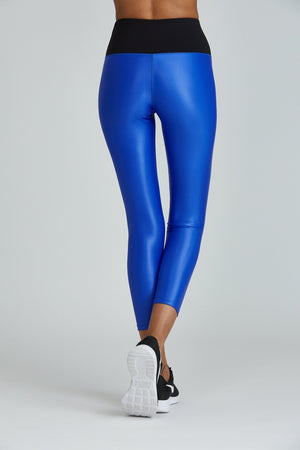 WOMENS LEGGINGS Noli High Rise Impact Legging - Liquid Sapphire