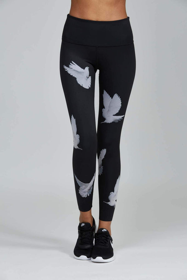 WOMENS LEGGINGS XS (U.K 6) Noli Dove Legging