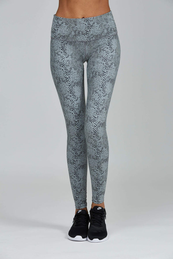 WOMENS LEGGINGS XS (U.K 6) Noli Python Gloss Legging
