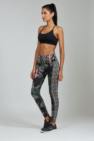 WOMENS LEGGINGS XS (U.K 6) Noli Warrior Legging