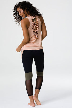 Women's Tops/Tanks ONZIE Braid Tank - Caramel Kiss