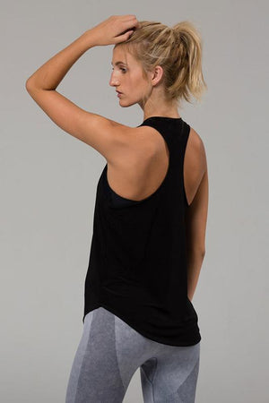 Women's Tops/Tanks ONZIE Glossy Flow Tank - Black