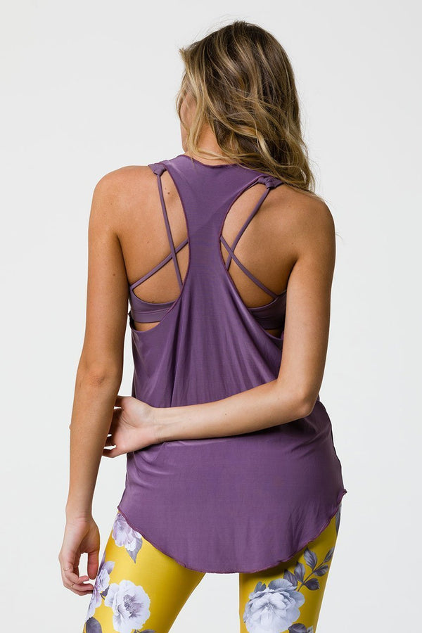 Women's Tops/Tanks ONZIE Glossy Flow Tank - Purple Haze