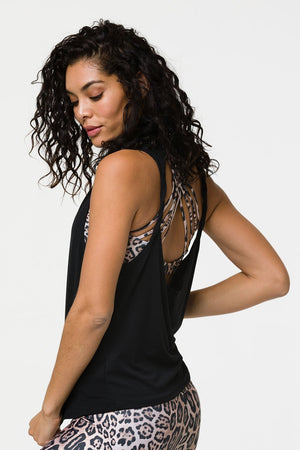 Women's Tops/Tanks ONZIE Twist Back Top - Black