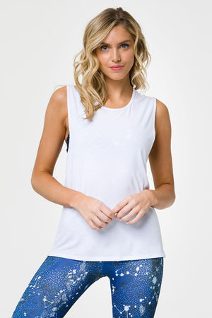 Women's Tops/Tanks ONZIE Twist Back Top - White