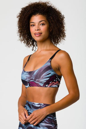 WOMENS BRAS ONZIE Mother Nature Graphic Elastic Bra