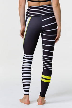 WOMENS LEGGINGS ONZIE  High Rise Graphic Legging Linear