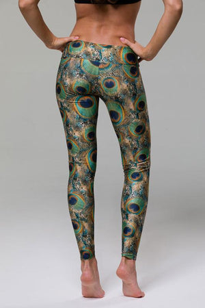 WOMENS LEGGINGS ONZIE Long Legging - Peacock Green