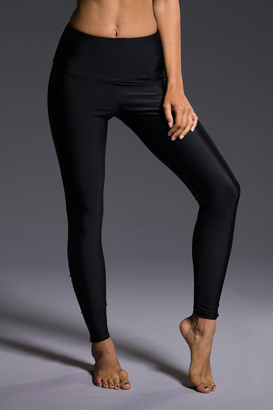 WOMENS LEGGINGS ONZIE Mesh Legging - Black