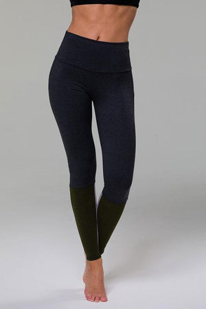 WOMENS LEGGINGS ONZIE Moss Combo Street Legging