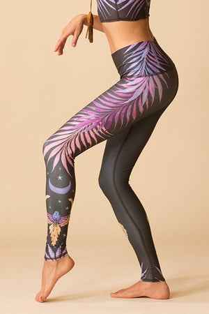 WOMENS LEGGINGS Teeki Phoenix Rising Hot Pant