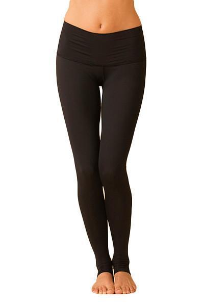 4ded6780563c0 WOMENS LEGGINGS Teeki Solid Black Hot Pant