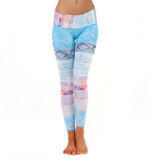 WOMENS LEGGINGS Teeki Tarot Magic Hot Pant