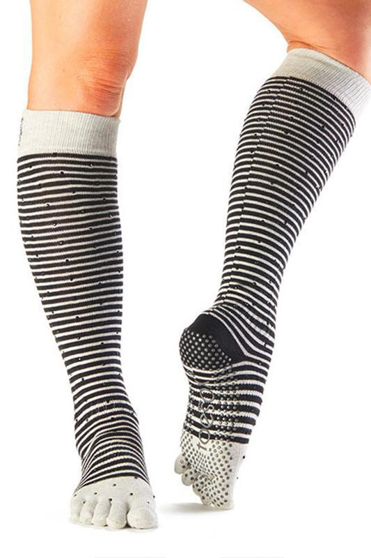 SOCK Toesox Full Toe Knee High - Shimmy