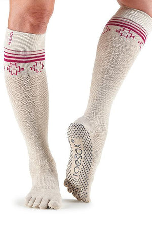 SOCK Toesox Full Toe Ritual Knee High Socks