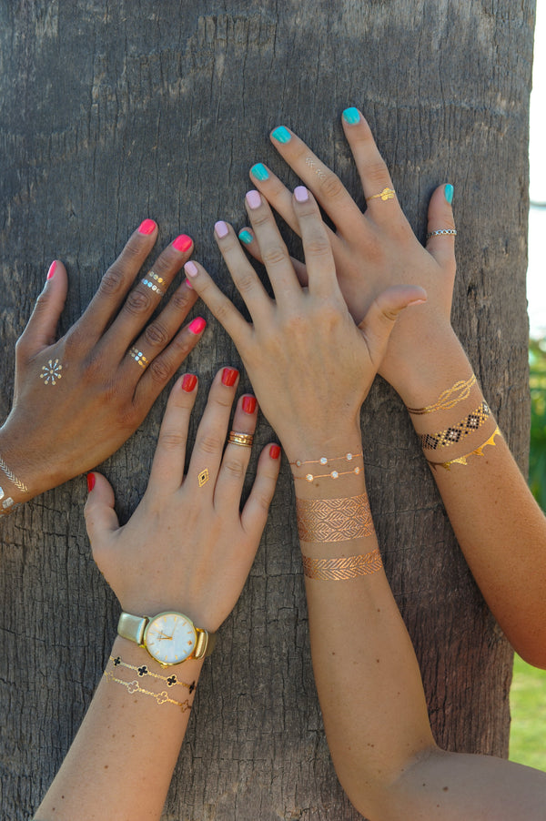 TATTOO TRIBETATS Metallic Tattoos - Belize Collection
