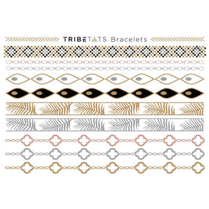 TATTOO TRIBETATS Metallic Tattoos - Catalina Collection