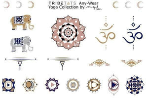TATTOO TRIBETATS Statement Pieces 2 Sheet Pack