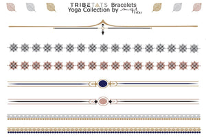 TATTOO TRIBETATS Yoga Bracelets & Armbands 2-Pack