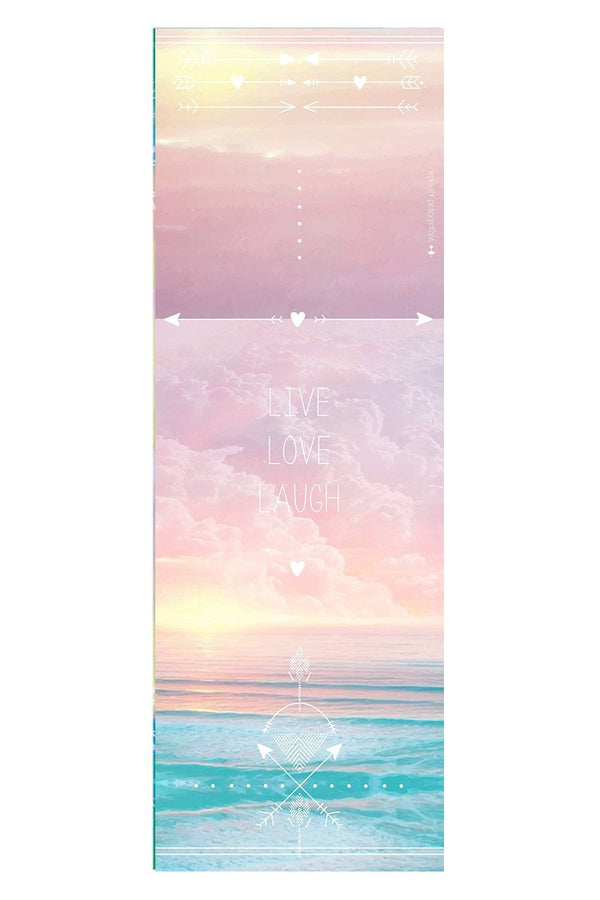MATS Vagabond Goods Live And Love Yoga Mat