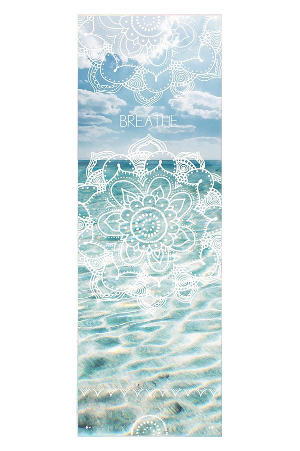 Towel Vagabond Goods Breathe Printed Yoga Towel