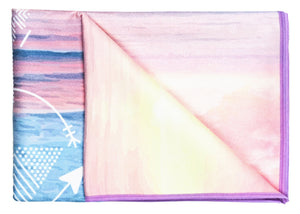 Towel Vagabond Goods Live And Love Printed Yoga Towel