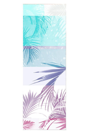 Towel Vagabond Goods Tropical Palm Printed Yoga Towel