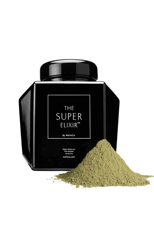 supplements WelleCo SUPER ELIXIR Greens 300g Refillable Black Caddy
