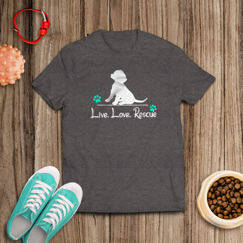 Live Love Rescue Tee