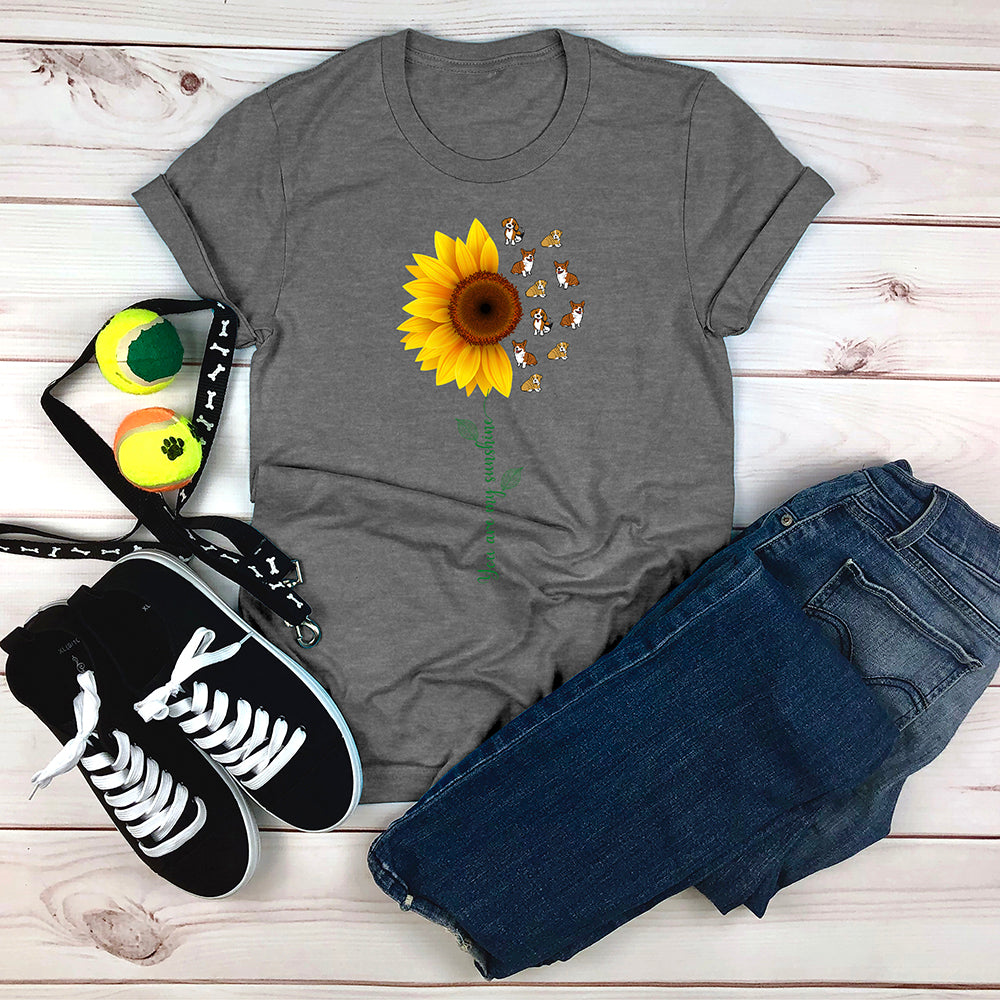 You Are My Sunshine Pups T-Shirt