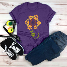 Load image into Gallery viewer, Sunflower of Paws T-Shirt