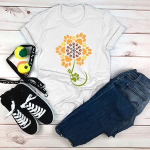 Sunflower of Paws T-Shirt