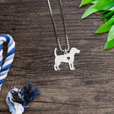 Beagle Heart Necklace