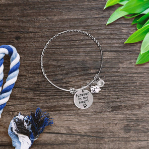 Furever In My Heart Charm Bracelet