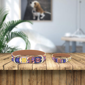 Patterned Collar and Bracelet Bundle