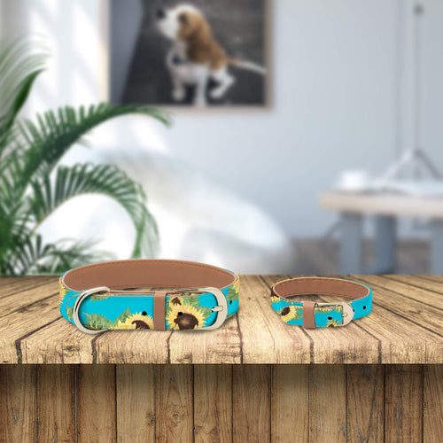 Sunflower Collar and Bracelet Bundle